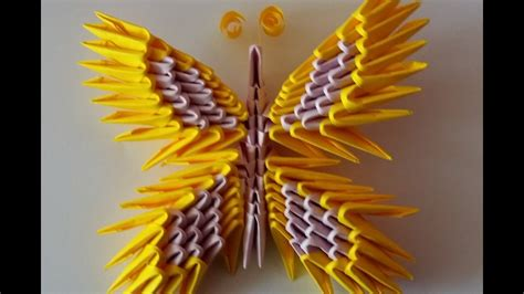 Origami Butterfly 3d - papillon butterfly origami 3d