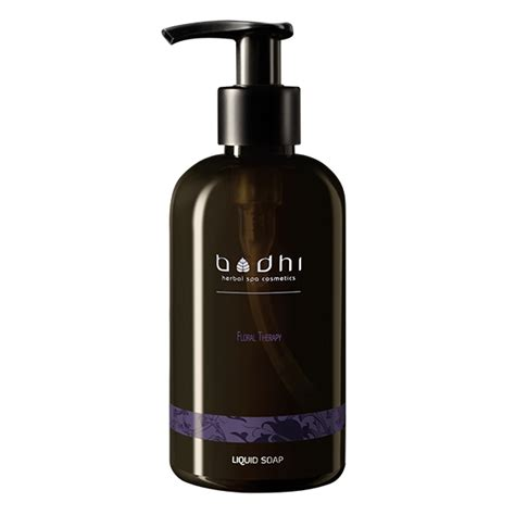 liquid soap floral therapy