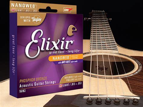 Hd Light Acoustic Guitar Strings Elixir Strings Elixir Light Strings