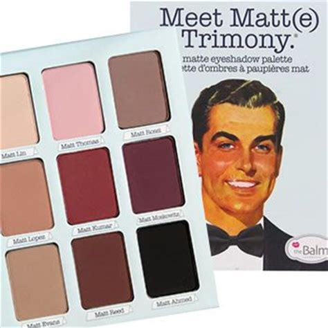 The Balm Meet Matte Trimony Palette Original the balm meet matte trimony eyeshadow palette new in box free ship ebay