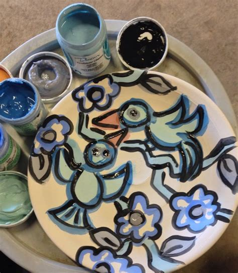 Handmade Ceramic Paintings - finding a balance in an imbalanced world joel