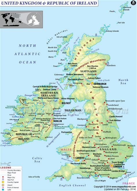 map of britain and europe map of great britain and europe world maps