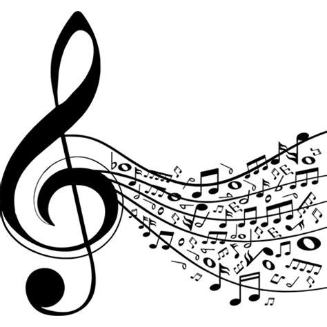 imagenes en blanco y negro de notas musicales notas musicales sin fondo blanco imagui