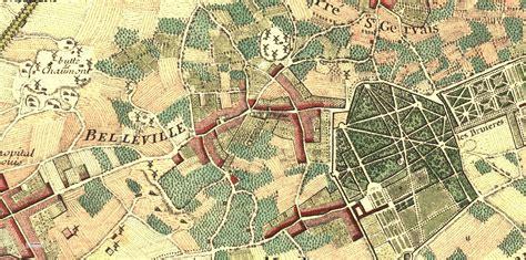 belleville  charonne atlas historique de paris