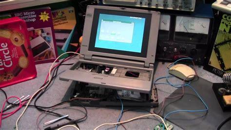 dead 1995 toshiba laptop repair cleanup 410cdt satellite pro