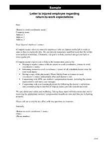 employee return to work letter template letter template 2017