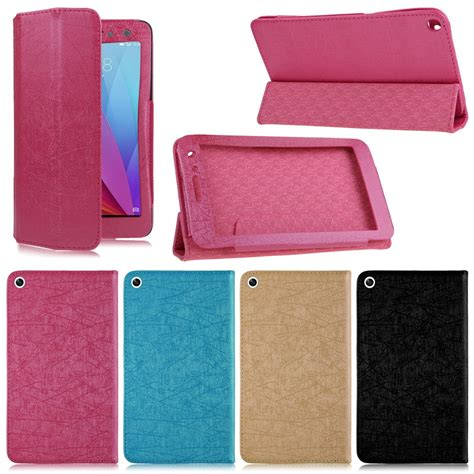 Huawei Mediapad T1 7 0 Inch 701u Casing Leather Flip Berkualitas ultra slim leather cover stand for 7 quot huawei mediapad t1 7 0 t1 701u tablet ebay