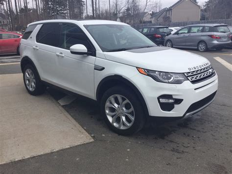 used 2016 land rover discovery sport hse in kentville