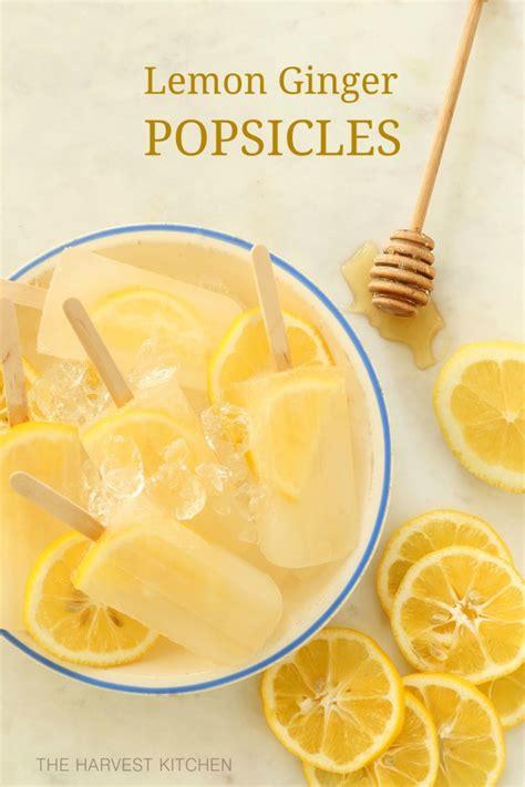 Lemon Detox Harvest Kitchen by Lemon Popsicles The Harvest Kitchen