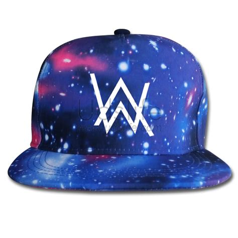 Alan Walker Hat | alan walker fade logo cap hat snapback adjustable galaxy