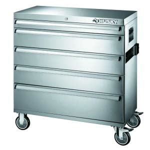 husky 36 in 5 drawer tool cabinet 36sscathd the home depot