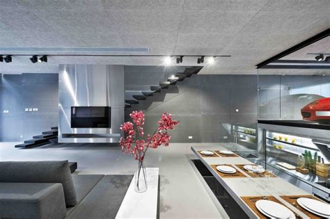 modern kung house design ferrari 360 owner centers his hong kong residence around the sportscar autoevolution
