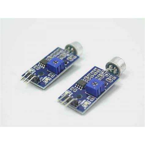 Arduino Sound Detection Module 2 pcs microphone sensor high sensitivity sound detection