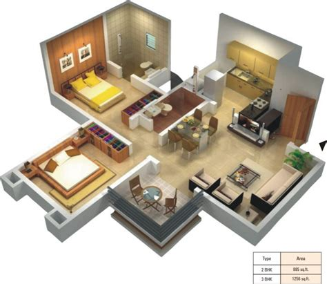 design of 2bhk house design for 2bhk house house design ideas