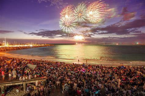 australia day fireworks at fremantle s fishing boat - Fishing Boat Harbour Fireworks