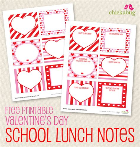 printable school valentines cards free printable s day school lunch notes lunch