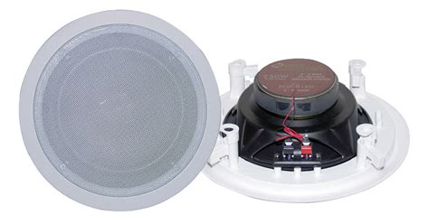 pyle home audio pdic81rd 8 two way in ceiling speaker