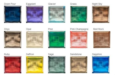 colored glass blocks how colored glass block can be used to psychologically