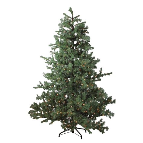 jaclyn smith 75 ft ridgedale pine multi color lit christmas tree smith 7ft clearwater pine tree with 500 clear lights