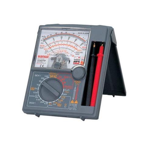 Multimeter Analog Murah jual sanwa analog multimeter yx 360trf murah bhinneka