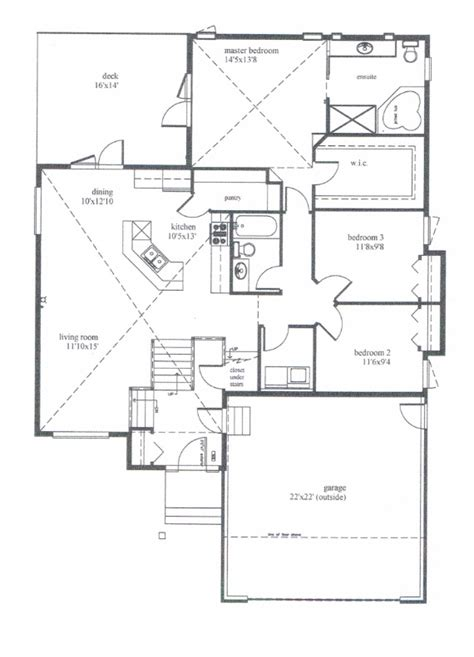 bi level house floor plans modified bi level house plans house plans