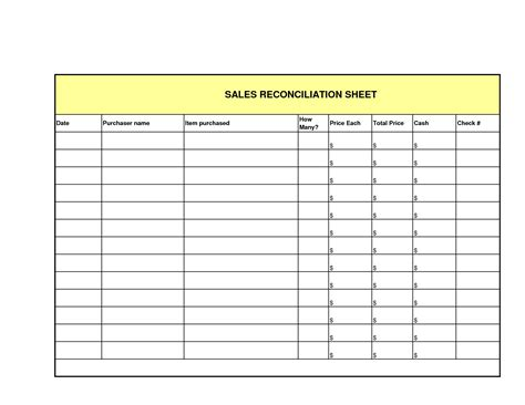 Best Photos Of Printable Daily Sales Sheet Sales Log Sheet Template Inventory Transfer Form Sales Register Template