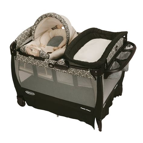 Playard Crib by Graco Rittenhouse Cuddle Cove Travel Bassinet Crib Playard