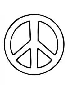 Peace Sign Template by Peace Sign Template Cliparts Co