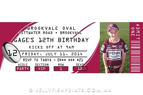 printable rugby birthday invitations printable rugby league birthday invitations