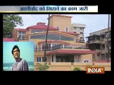 rajesh khanna bungalow ashirwad rajesh khanna s iconic bungalow ashirwad demolished