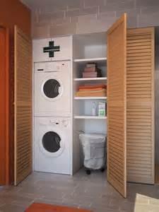 idee de rangement de la buanderie meuble