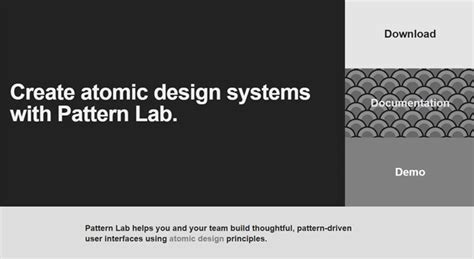 frost pattern lab top web designing tools every designer must be aware