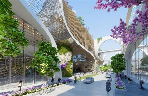 Chicagos Eco Shopping Mall by Wordlesstech Wooden Orchids Eco Responsible Shopping Mall