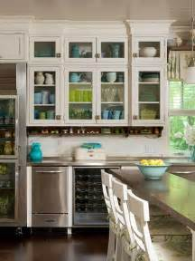 kitchen cabinets with glass doors five inc countertops 5 ways to make practical use of a corner kitchen cabinet