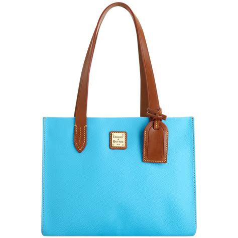 Dooney Bourke Introducing Dooney And Bourke Mini Collection by Dooney Bourke Collection Small Shopper In Blue Lyst