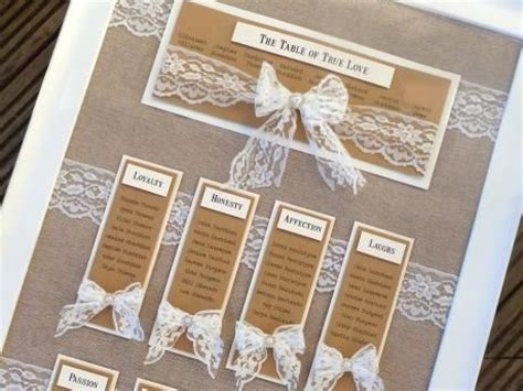 rustic themed wedding seating plan rustic hessian and lace wedding table plan with a
