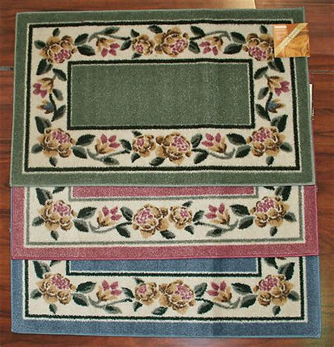 2x3 kitchen rugs 2x3 kitchen rug mat pink washable mats rugs flower flowers floral yellow green rugorama1