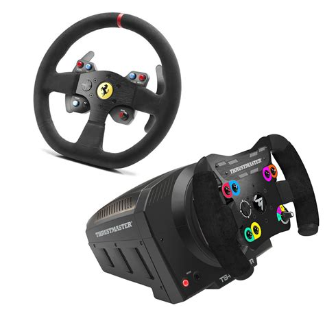 thrustmaster volante thrustmaster ts pc racer 599xx evo 30 wheel add on