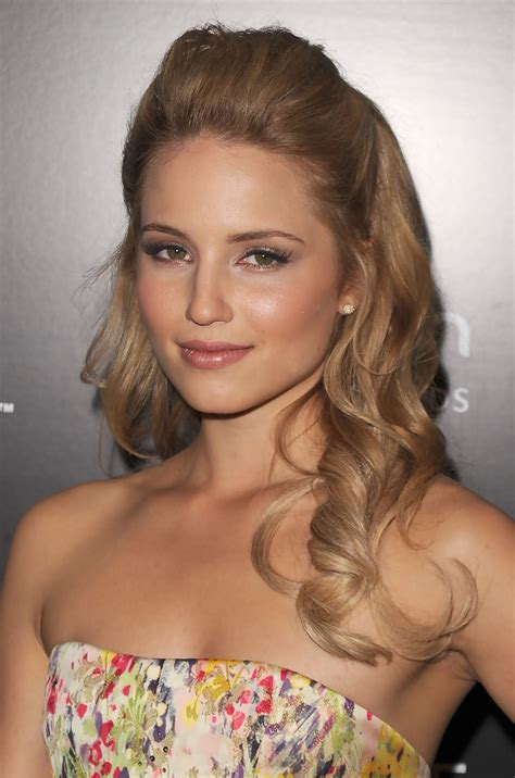 7 Hair Styles For 2010 by More Pics Of Dianna Agron Half Up Half 11 Of 13