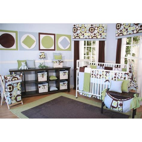 Nursery Bedding Sets Boy Brandee Danielle Modern Baby Boy 4 Crib Bedding Set Baby Bedding Sets At Hayneedle