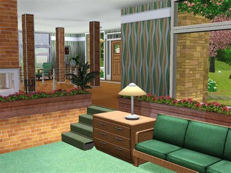 sims 3 room ideas split level living room the sims ideas pinterest