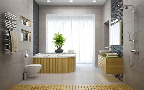 ufficio feng shui si vede un bagno arredato secondo la filosofia