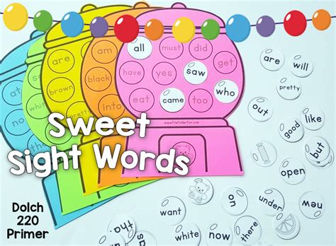 printable games to learn sight words kindergarten sight words game the crafty classroom