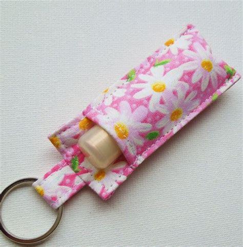 pattern for chapstick holder chapstick keychain lip balm key chain chapstick holder