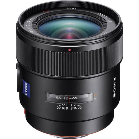 sony lenses sony 24mm f 2 0 carl zeiss t wide angle prime lens sal24f20z