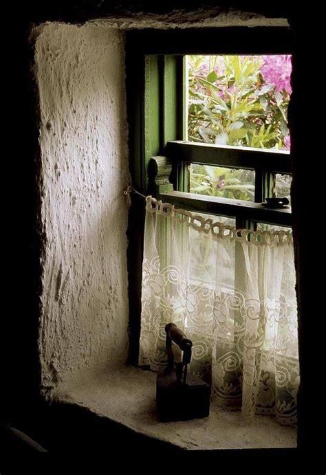 deep window sill curtains cottage window irish cottage pinterest