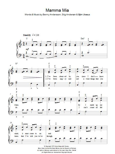 tutorial piano mamma mia disco search results sheet music direct