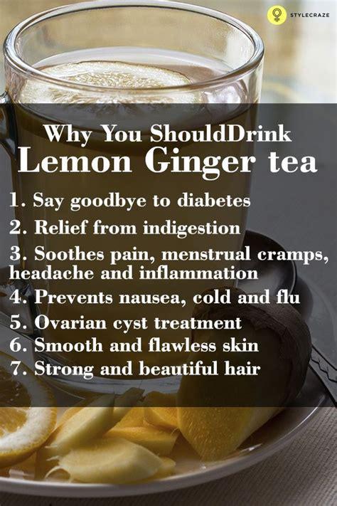 Lemon Detox Skin Benefits by 12 Best Benefits Of Lemon Tea For Health Skin And