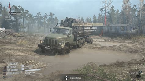 Spintires Mudrunner Ps4 by Review Mudrunner A Spintires Ps4 Playstation