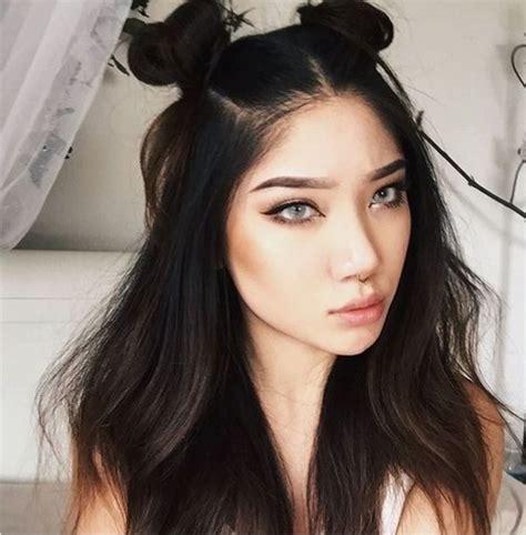 Half Bun Hairstyle by Half Up Bun For 20 Half Bun Hairstyles 2017